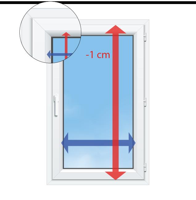 Richtig messen - Fenster richtig ausmessen ...